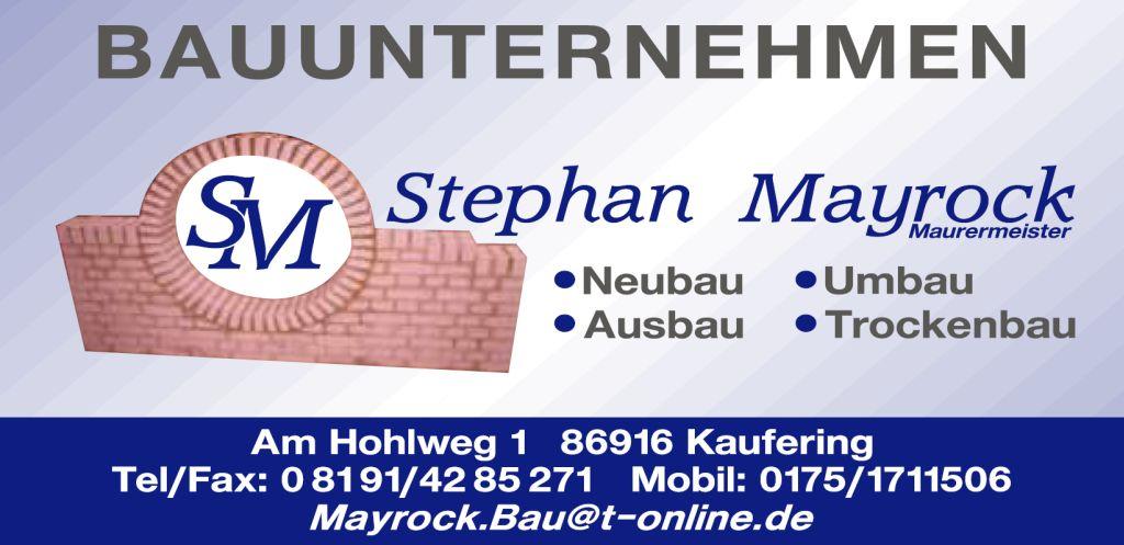 Stephan Mayrock Bauunternehmen