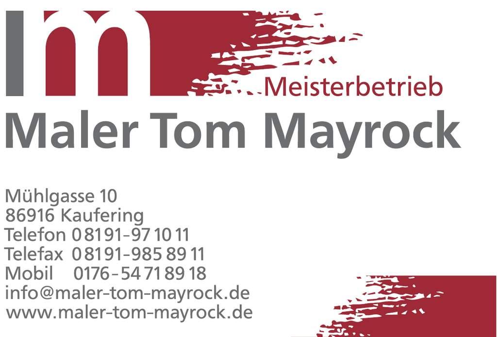 Maler Tom Mayrock