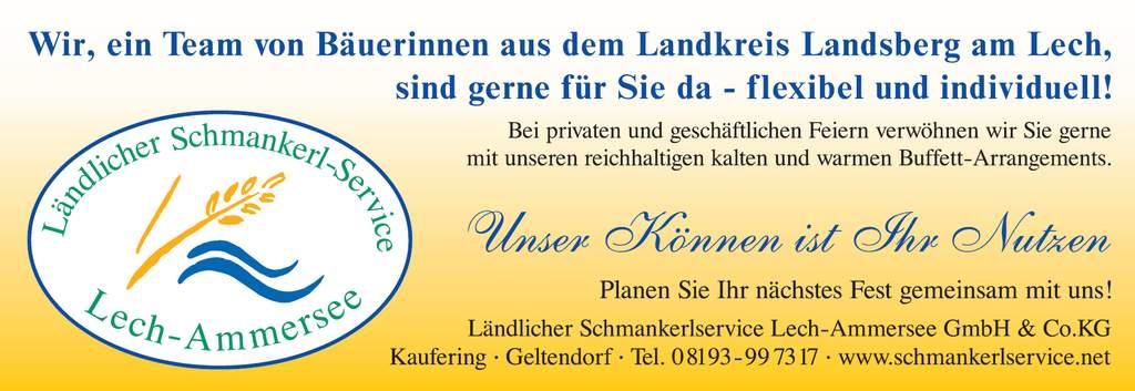 Ländlicher Schmankerl-Service Lech-Ammersee