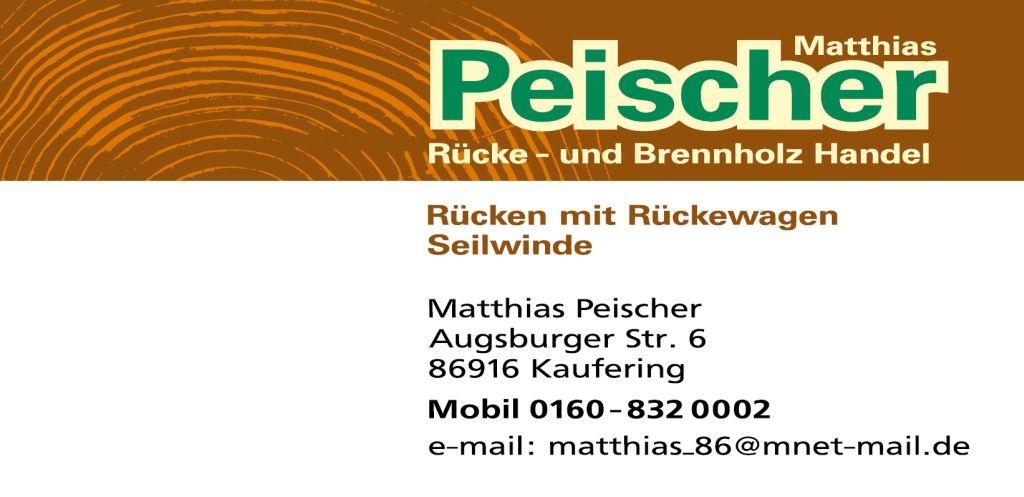 Matthias Peischer Rücke- und Brennholz Handel