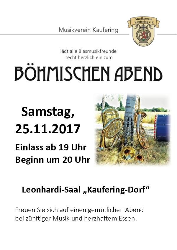 Böhmischer Abend 2017