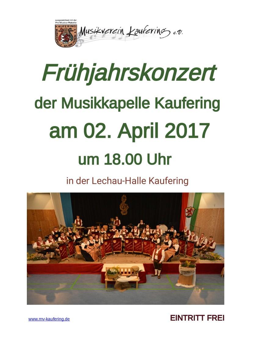 Frühjahrskonzert 2017